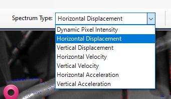 VibVue FFT types screen capture
