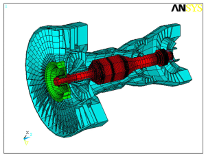 Multi-rotor Gas Turbine Rotordynamic Analysis