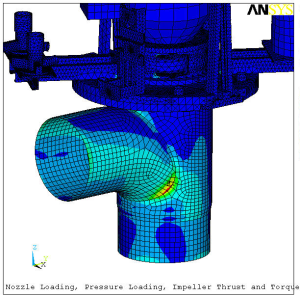 Pump System Seismic Structural Analysis