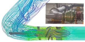 CFD Analysis of a Low Head Propeller Turbine with Comparison to Experimental Data